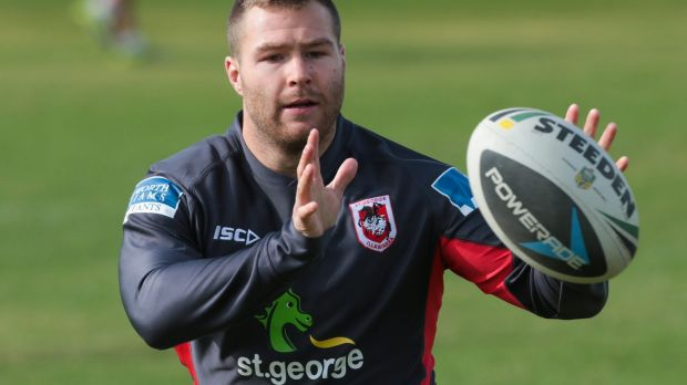 In demand: Trent Merrin has been linked to several other NRL clubs.
