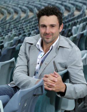 Strike rate: Ed Cowan is going on the attack with the bat.