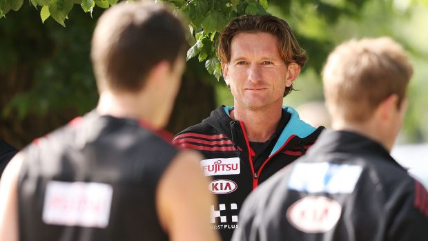 Court battle:  James Hird's appeal against ASADA's investigation will be heard on Monday.
