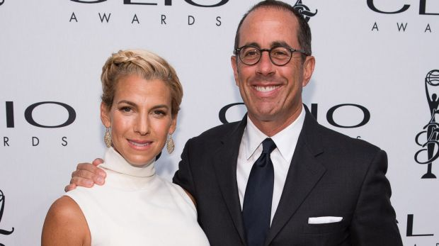 Jerry Seinfeld - pictured here with his wife Jessica - refuses to perform stand up at 'uptight' universities in the US.