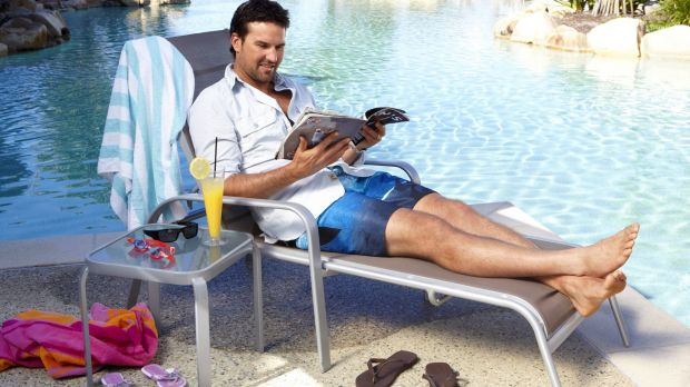 Keen and engaged: Pat Rafter in a meditative mood.