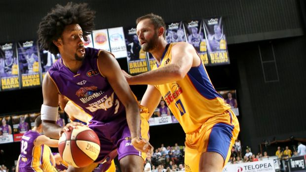 Regal performance: Josh Childress was in beast mode against Adelaide.