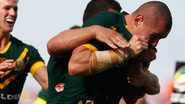 Proud as punch: Australian youngster David Klemmer.