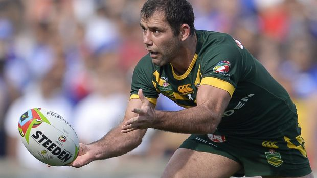 """""""You associate world champions with World Cup, don't you?"""": Kangaroos captain Cameron Smith."""