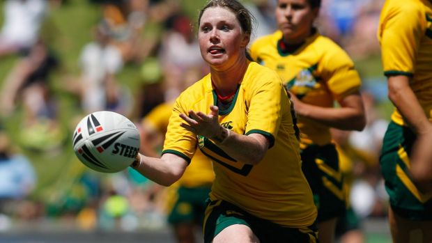 On the rise: Women's rugby league has improved by leaps and bounds.