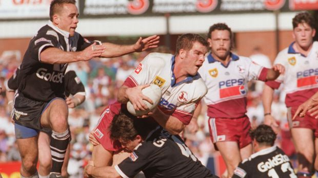 NRL star Ian Roberts was concussed more than a dozen times during his 12-year professional career.