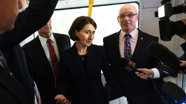 NSW Transport Minister Gladys Berejiklian will not confirm how far over budget the light rail line from the city to ...