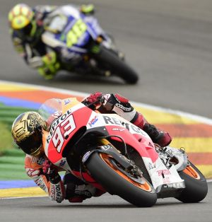 Dominant: Spain's Marc Marquez