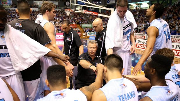 Back in the swing of things: The NZ Breakers completed a successful Sunshine Swing.