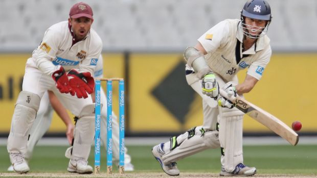 In form: Queensland's Chris Hartley.