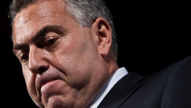 Treasurer Joe Hockey did not deny analysis showing a $51 billion hole in the budget as the iron ore price dropped.