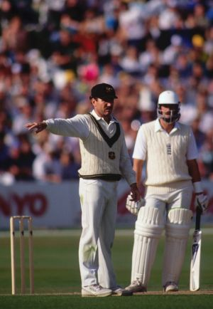 Look lively: Allan Border says the 12th man now has the toughest job in the team.