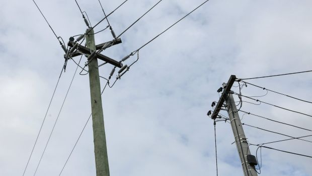 For sale, maybe: Poles and wires will go on the market if the Baird government is re-elected next year.