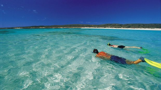 Fishing has been banned at the Ningaloo Reef since 1987.