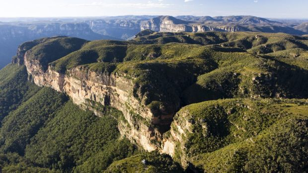 World Heritage listed, but for how long?: The Blue Mountains.