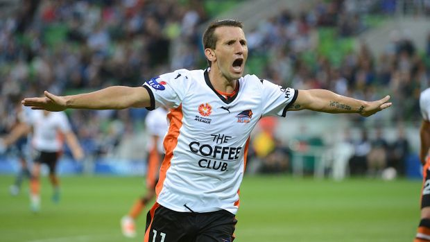 Flying visit: Liam Miller has a short-term deal with Melbourne City.