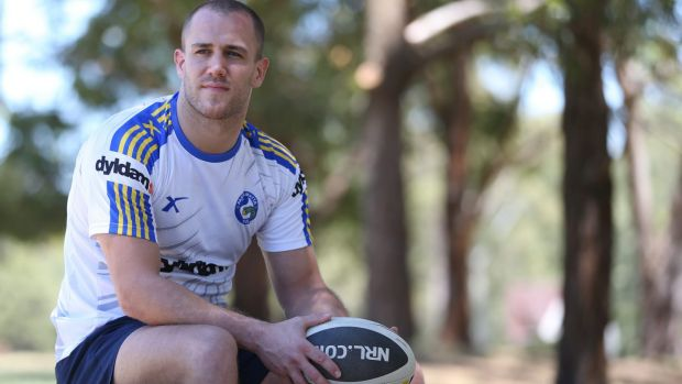 Lee Mossop played just three games for the Eels.