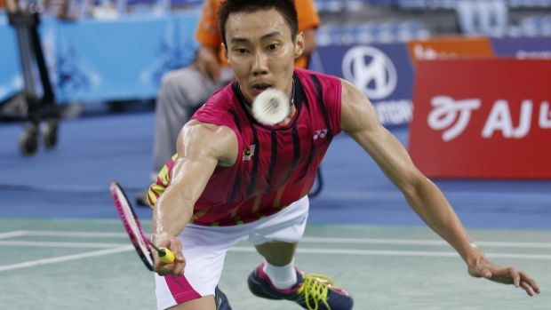 Suspended: Lee Chong Wei.