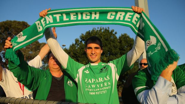 Bentleigh Greens fans turned up in numbers but went home disappointed.