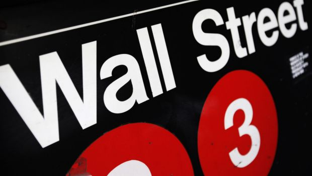 Wall St inched higher overnight, but the mood was donwbeat.