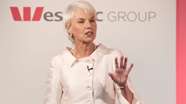 Leader: Gail Kelly put her money where her mouth was on the gender pay gap.