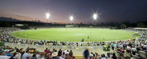 Manuka Oval cricket.