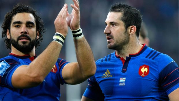 """""""I'll give everything to bring honour to this shirt because I know it's sacred,"""" says Scott Spedding (right)."""