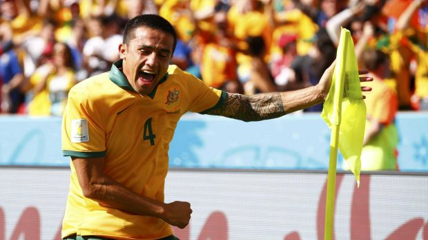 Socceroo boss Ange Postecoglou has made no secret of his admiration for Tim Cahill.