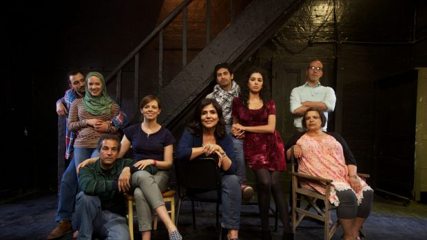 Cast of the play, Tales of A City by the Sea, when it premiered in 2014.