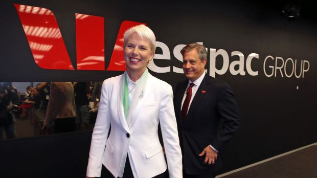 Westpac lags behind the other 'big four' banks when it comes to the number of females it has in key management positions.