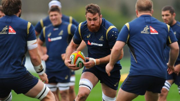 Former Wallabies captain James Horwill has earned just his second start in nine Tests.
