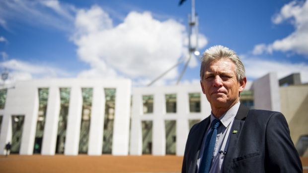 Norfolk Island Chief Minister Lisle Snell.