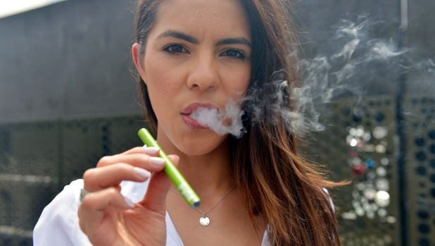 Nearly a quarter of people aged between 18 and 24 were found to have tried electronic cigarettes, according to  a Cancer ...