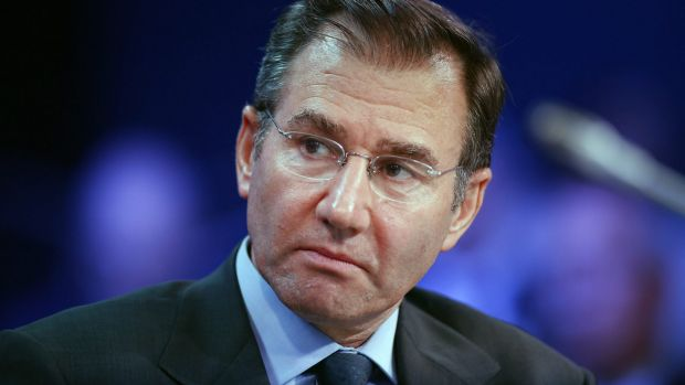 Seconds out: Glencore chief executive Ivan Glasenberg is readying for round two with Rio Tinto.
