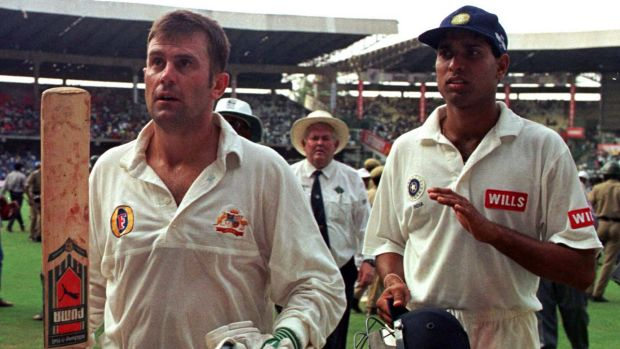 Need to adapt: former Australian captain Mark Taylor, pictured here after scoring a century in Bangalore, says Australia ...