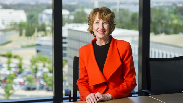 STEPPING UP: EY Canberra managing partner, Lucille Halloran, will soon become the organisation's Oceania government and ...