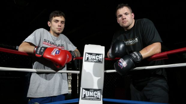 Kickboxer Josh Tonna and boxer Ben Edwards will take on Dave Aung and Tafa Misipati respectively at the Hellenic Club on ...