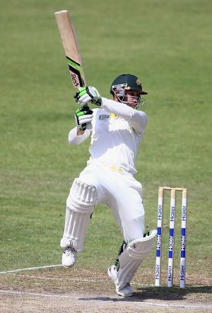 All to play for: Phillip Hughes may get the nod over Chris Rogers.
