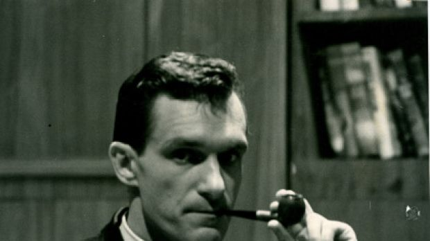 Hugh Hefner at the time of his late-night variety show Playboy's Penthouse, circa 1959.