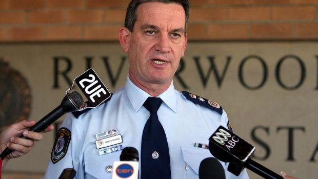 No comment on PIC investigation: Police Commissioner Andrew Scipione.