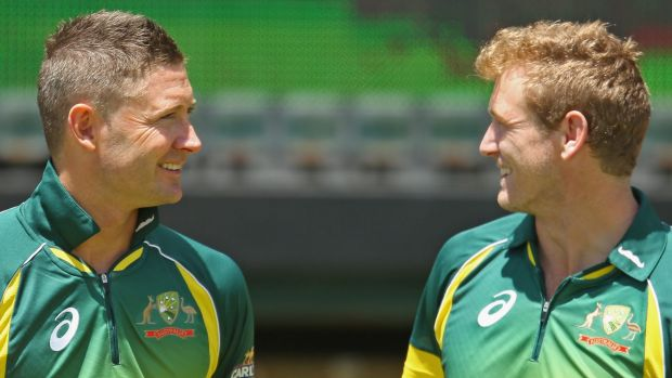 Michael Clarke and George Bailey.
