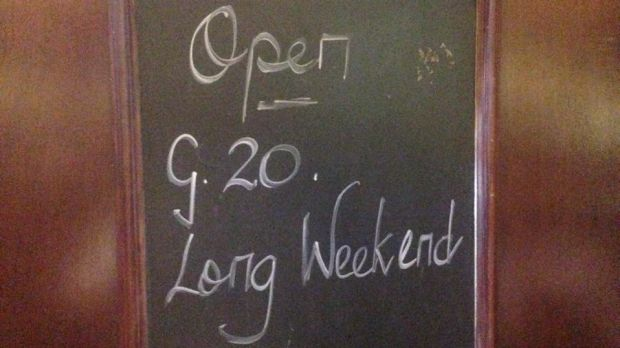 CBD pubs that have remained open over the weekend are seeing plenty of G20 delegates.