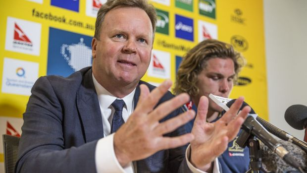 """""""Australian rugby will be in a much better shape from 2016 through to 2020"""": ARU CEO Bill Pulver."""