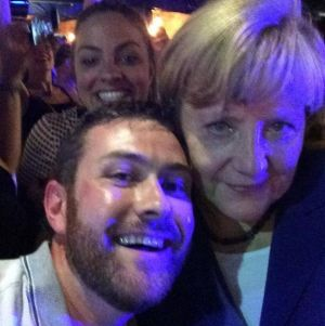 #WorldLeaderSelfie: German Chancellor Angela Merkel and friends.