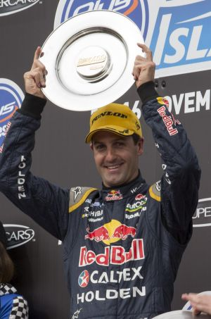 """""""To stand amongst those [legendary] drivers is something of which I'm pretty proud"""": Whincup."""