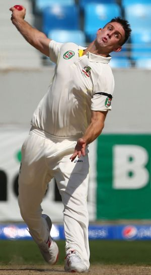 Australian all-rounder Mitchell Marsh isn't taking his spot in the Test team for granted.