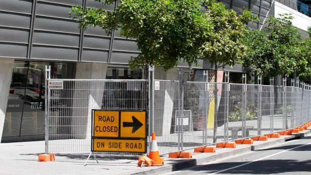 Nearly 30 kilometres of temporary fencing was used for the Brisbane G20 Summit,