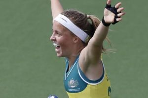Emily Smith is the new captain of the Hockeyroos.