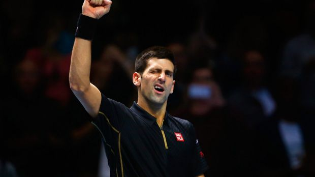 A force to be reckoned with: Novak Djokovic.
