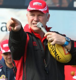 Returning to his home club: Danny Frawley.